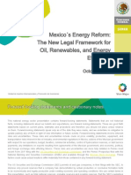 Mexico's Energy Reform - New Legal Framework