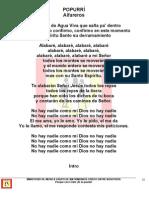 Popurri Alfareros