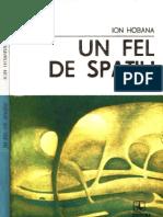 Ion Hobana - Un Fel de Spatiu [1988]
