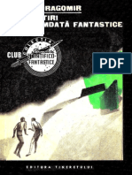 Mihu Dragomir- Povestiri Deocamdata Fantastice [1968]