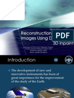 Reconstruction of MASTER Images Using DINEOF and 3D Inpaint