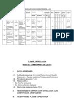Plan de Capacitacion de Agentes de Comunitario