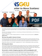 Open Letter to Nova Scotians from NSGEU members working for the Nova Scotia Liquor Corporation (NSLC)