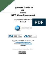 Beginners Guide to NETMF C# tutorial