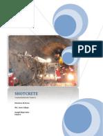 Monografia de Shotcrete