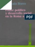 Poder político y desarrollo social en la Antigua Roma, Gonzalo Bravo