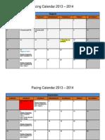 pasc algebra 2 pacing guide 2013-2014
