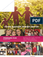 YMJC Fall 2013 Program Guide