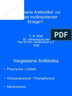 Vergessene Antibiotika