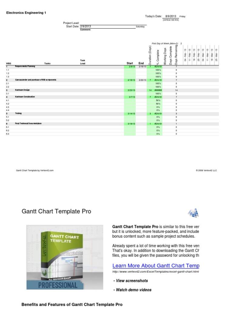 Gantt chart excel 2010 sample microsoft excel copyright nvjuhfo Images