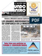 Mundo Minero Edición 300 julio-agosto 2013