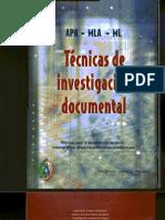 Tecnicas de Investigacion Documental Yolanda Jurado(Impreso)