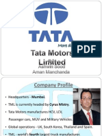 Tata Motors .Ppt
