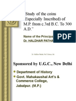 Coins by Dr. H.D. Pathak