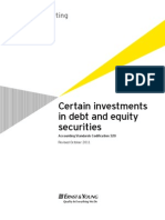 Certain investments in debt and equity securities