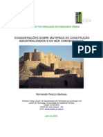 Materiais de Construção Não Convencionais