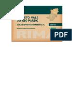 RIMA Projeto Vale Rio Pardo