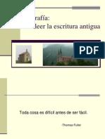 Paleografia Espanola
