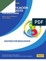 Guía Conceptual Gestión por Resultados (GpR)