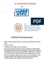 NTPC Industrial Training