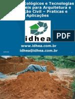 Materiais Ecológicos e Tecnologias Sustentáveis - Praticas e Aplicações