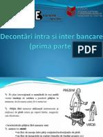 Cap 12 Decontari Intra Si Inter Bancare (Prima Parte)