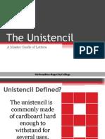 The Unistencil