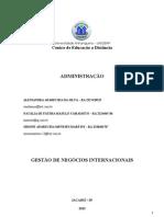 ATPS - Gestao de Negocios Internacionais - OK