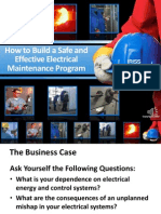 How to Build a Safe Effective Electrical Maintenance Program
