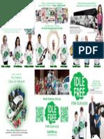'IDLE-FREE for our kids' Non-profit brochure. Dec. 2011.