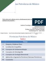 Provincias Petroleras de Mexico