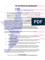 Wingman Top Gun Leadership Summary and Outline Ext