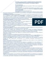 EXTRACTO DEL LINEAMIENTO PARA LA EVALUACI�N Y ACREDITACI�N DE ASIGNATURAS Versi�n 1.docx