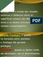 1ª AULA OCLUSÃO-2012 IMPRESSAO