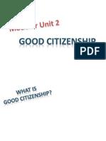 Good Citizenship