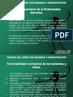 Manejo Del Nino Con Diarrea y Desnutricion