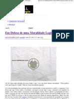Em Defesa de uma Moralidade Legislada _ Portal da Teologia.pdf