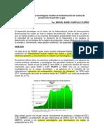 Avances Tecnologicos y Costos de Produccion Petroleo