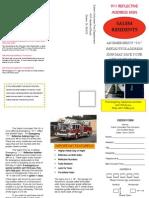 Salem Volunteer Fire Co. 911 Signs