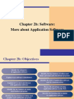Lecture 2b- More Application Software