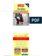 Langue Arabe Berlitz Guide de Conversation Et Lexique Pour Le Voyage