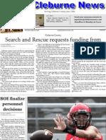 Cleburne News for Aug. 8, 2013