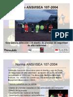 Presentación NORMA ANSI-ISEA 107-2004