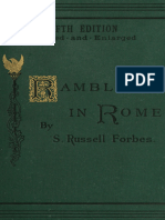 Rambles in Rome an Archaeological and Historical g