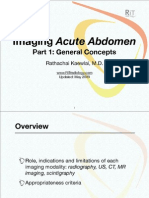 Imaging Acute Abdomen (Part 1)