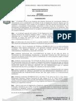 Resolución  232-GPL-ACP-2013 Reforma PAC