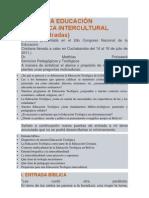 HACIA UNA EDUCACIÓN TEOLÓGICA INTERCULTURAL