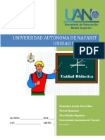 Unidad didáctica II La recta