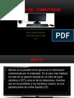 Partes Del ComputadorDavid Torres & Juandavid 11-2