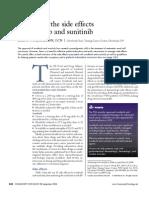 Managing the Side Effects of Sorafenib and Sunitinib4393